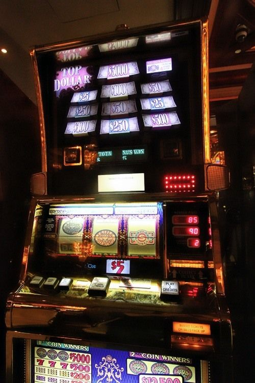 Top dollar slot machine for sale casino le plus proche du mans