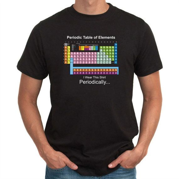 I Wear This Shirt Periodically T-Shirt by Teeburon on Etsy