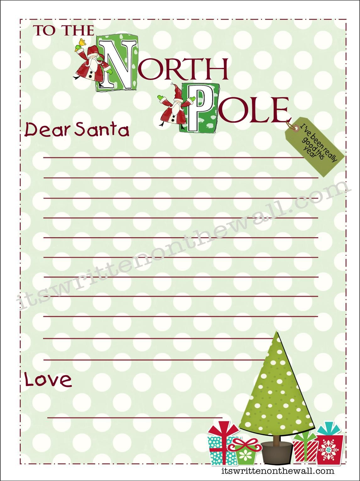 ItS Written On The Wall Freebie Kringle StationeryWrite Your