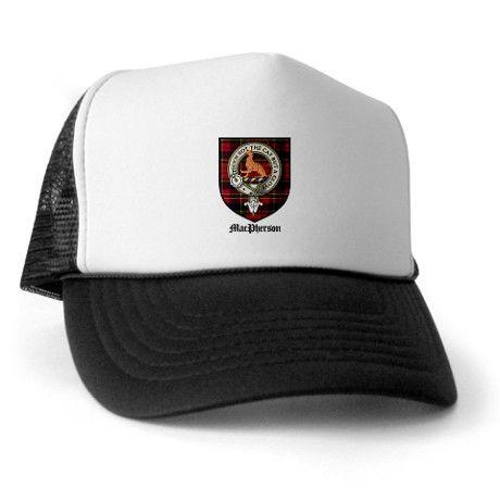 de7c49975 MacPherson Clan Crest Tartan Trucker Hat | Gifts for me!!! | Hats ...