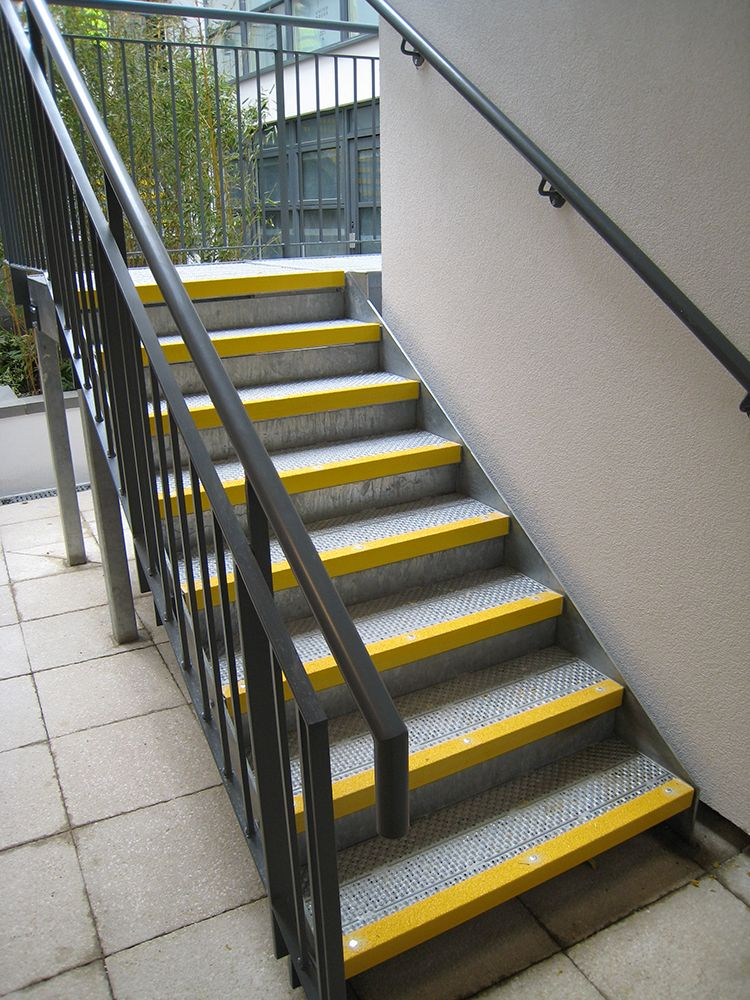 Stair Nosings Used To Highlight Residential Step Edges