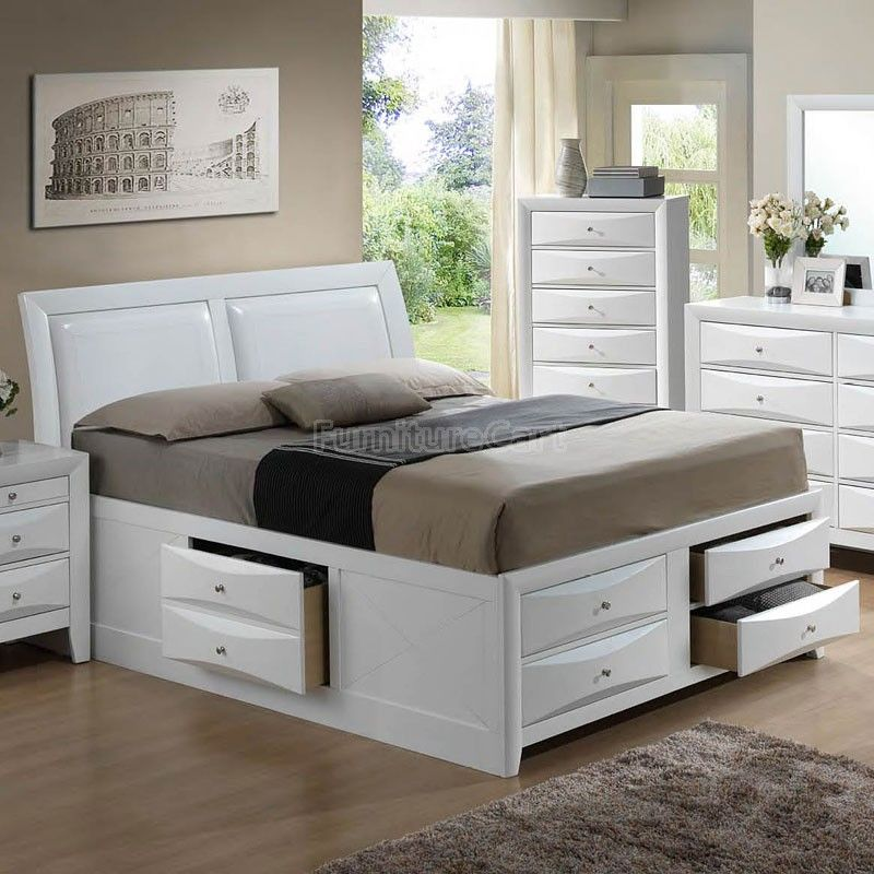 G1570i Youth Storage Bed King Storage Bed King Size Storage Bed Queen Size Storage Bed