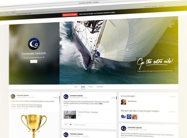 Google+ | Contender Sailcloth