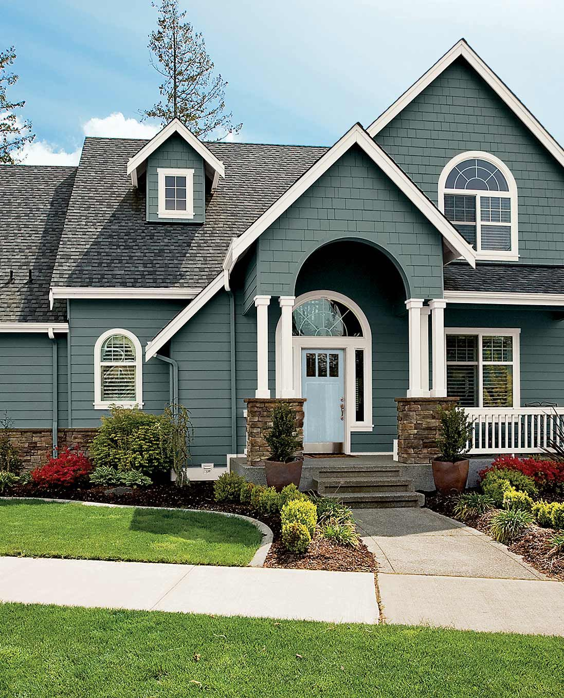 Beautiful Home Exterior Colors: Popular Exterior Paint Colors By Region