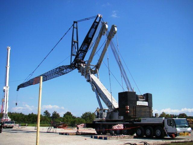 Guide on how to create a colorful rainbow diy crane curtain detailed - Liebherr 500 Ton All Terrain Crane Lt Mobile Cranes