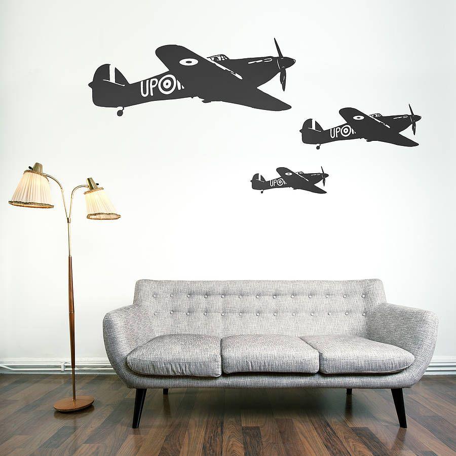 Beau Hawker Hurricane Vinyl Wall Sticker