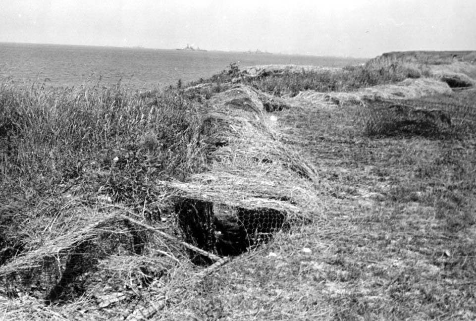 The German trench network at Point Du