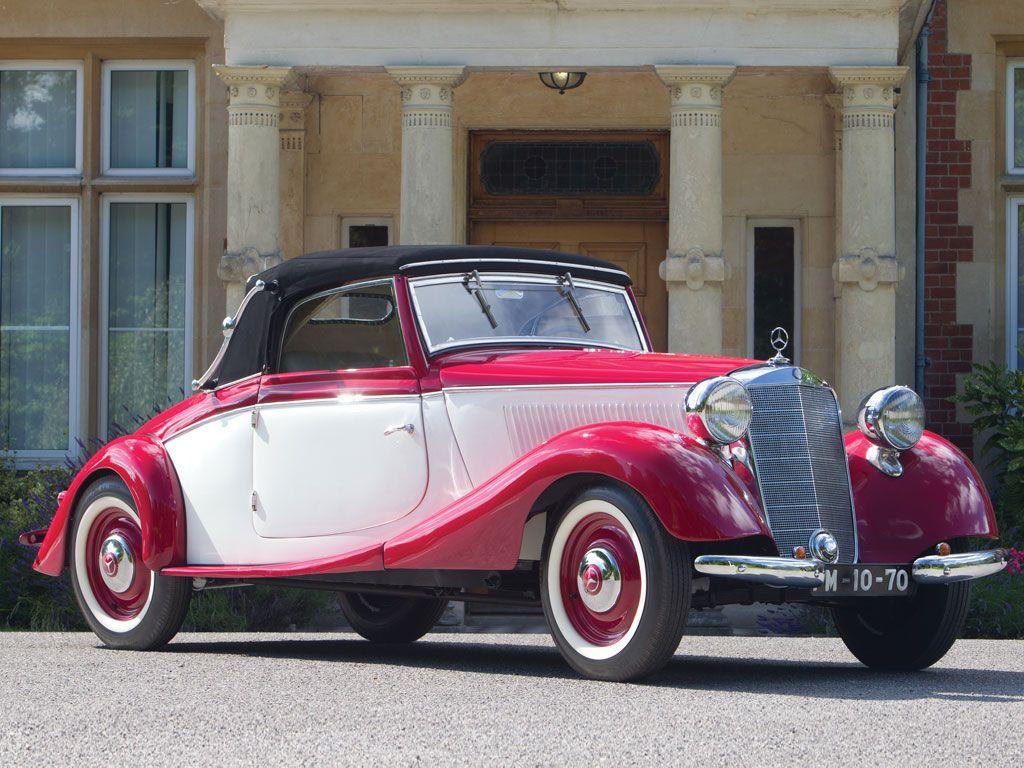 1936 Mercedes Benz 170 V Cabriolet A Mbhess Mbclassic