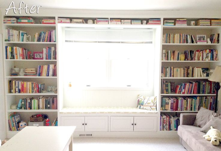 Step By Tutorial On Building This Shelf With A Window Seat