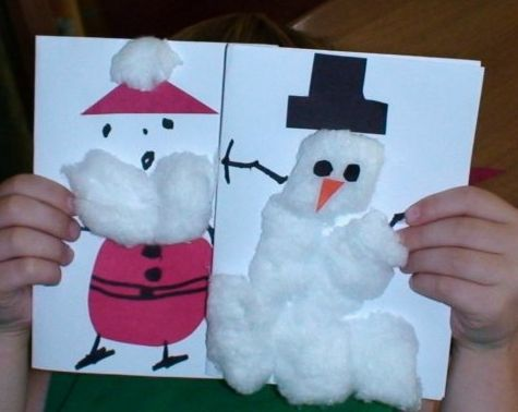 Manualidades navide as con los ni os manualidades - Como hacer manualidades navidenas para ninos ...