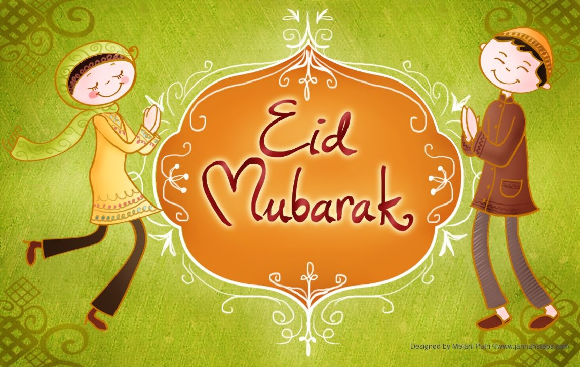 Kids Eid Greeting Cards With Images Eid Greetings Eid