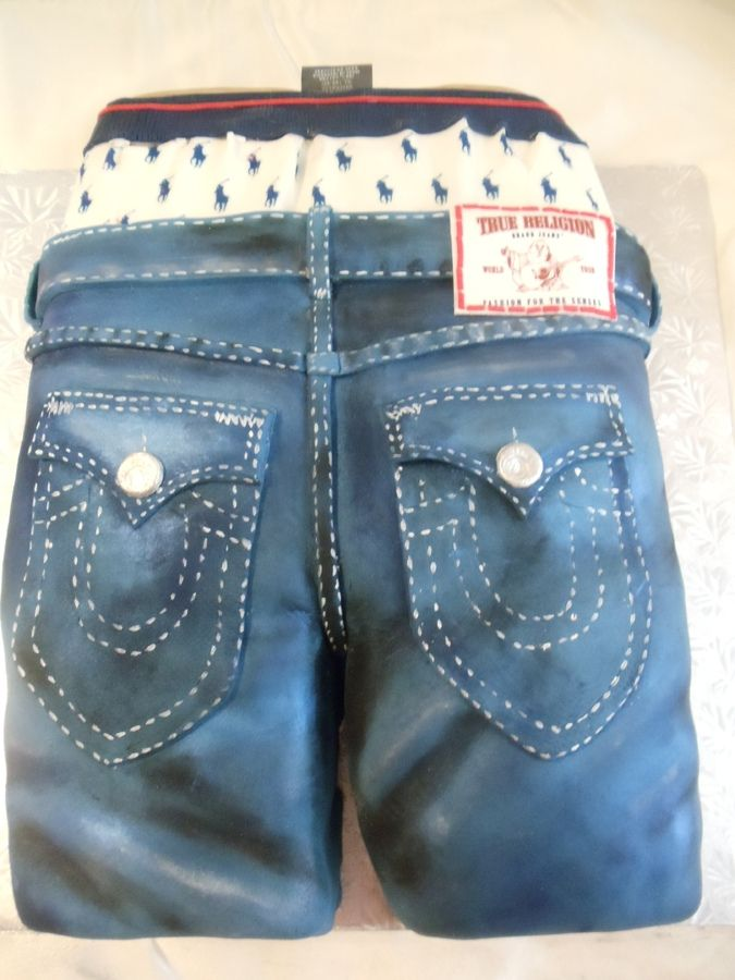My First True Religion Jeans u2014 Birthday Cakes | Food and cakes | Pinterest | Religion jeans ...