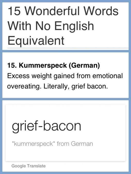 Grief-bacon