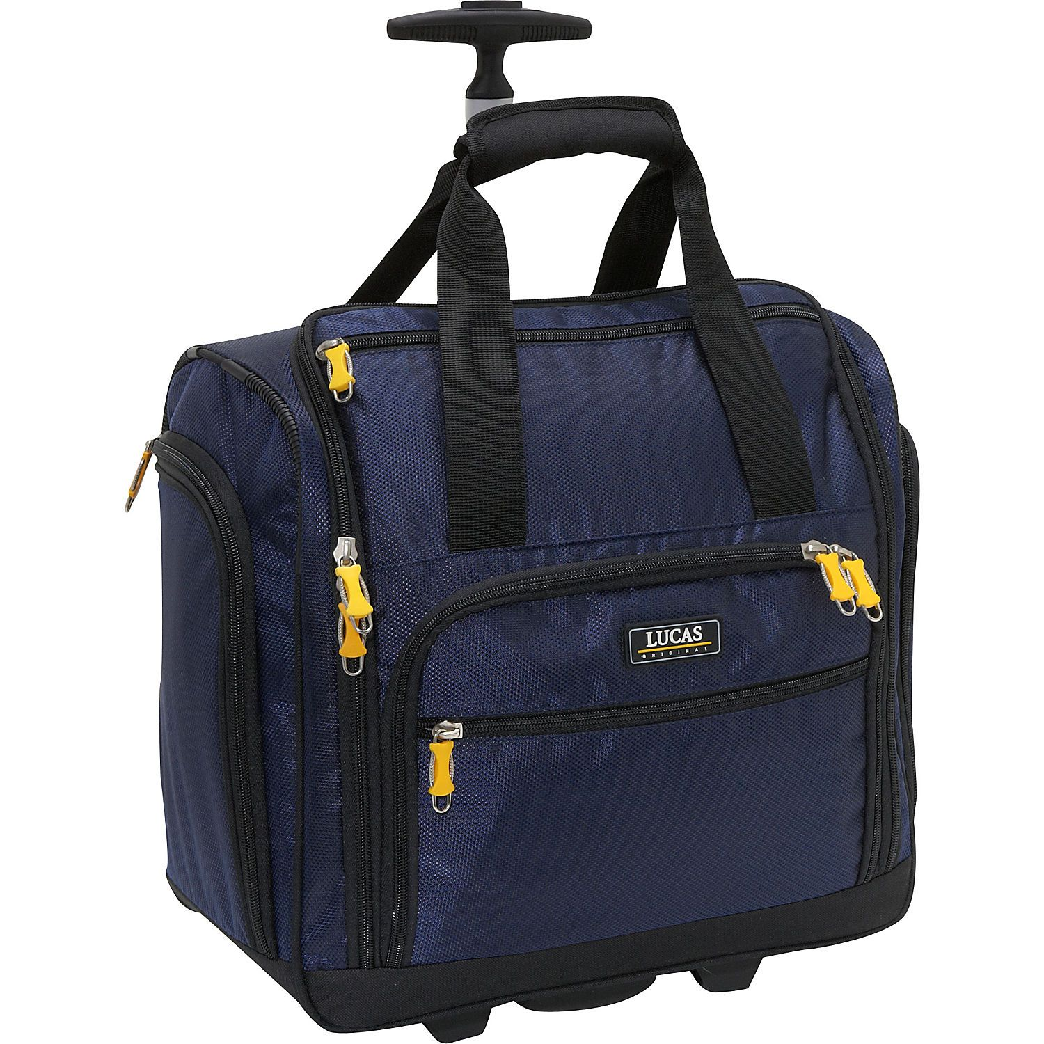 Lucas Wheeled Under The Seat Cabin Bag Ebags Comes With Several Small Organizers 47 49 4 1 2 Stars