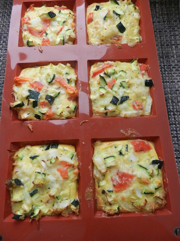 fondants de légumes  cest pas dla tarte
