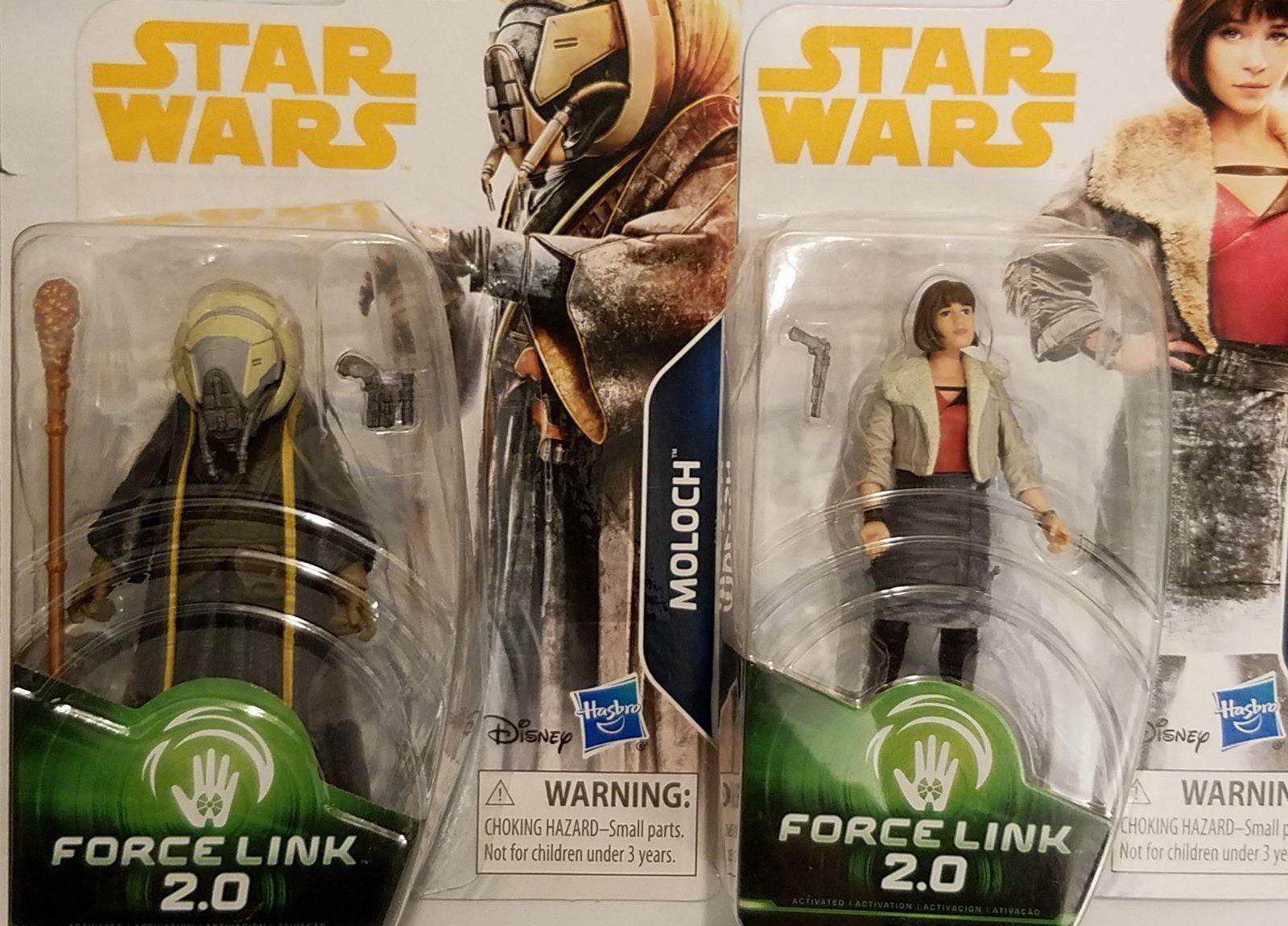 STAR WARS SOLO Force Link 2.0 Figure-Moloch