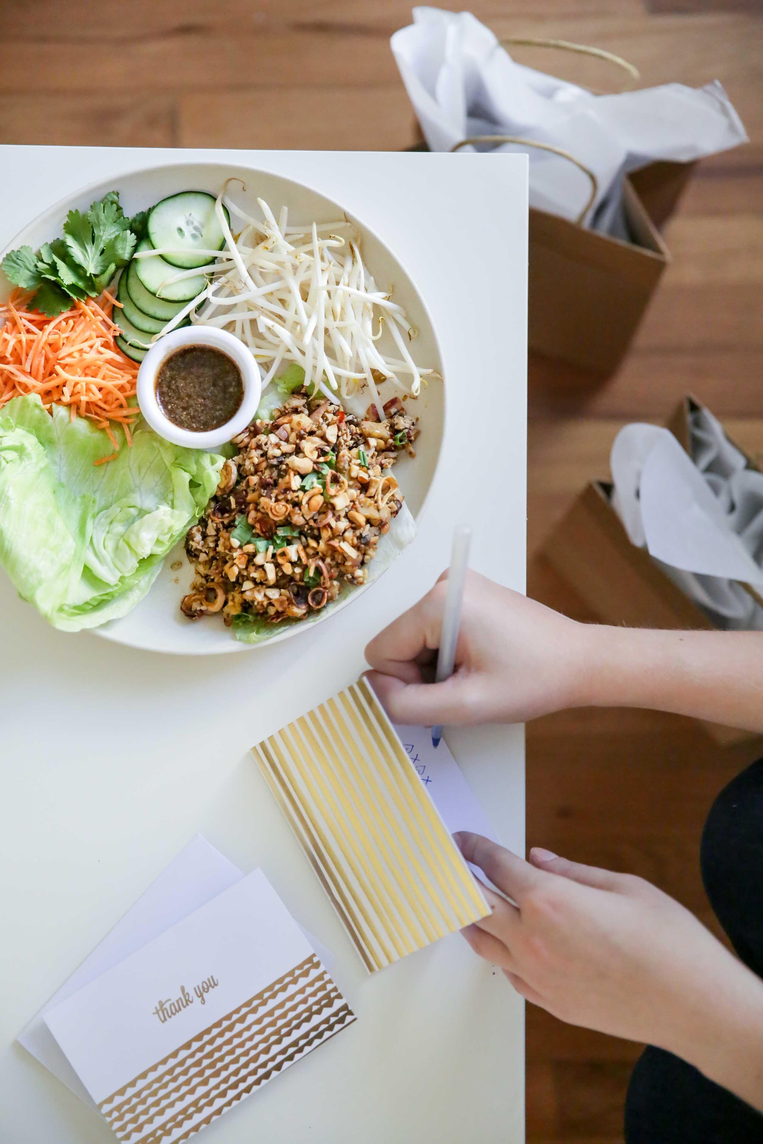 Southeast Asian Lettuce Wraps Vegan Gf Delicious Vegetarian Grilled Veggies Asian Lettuce Wraps
