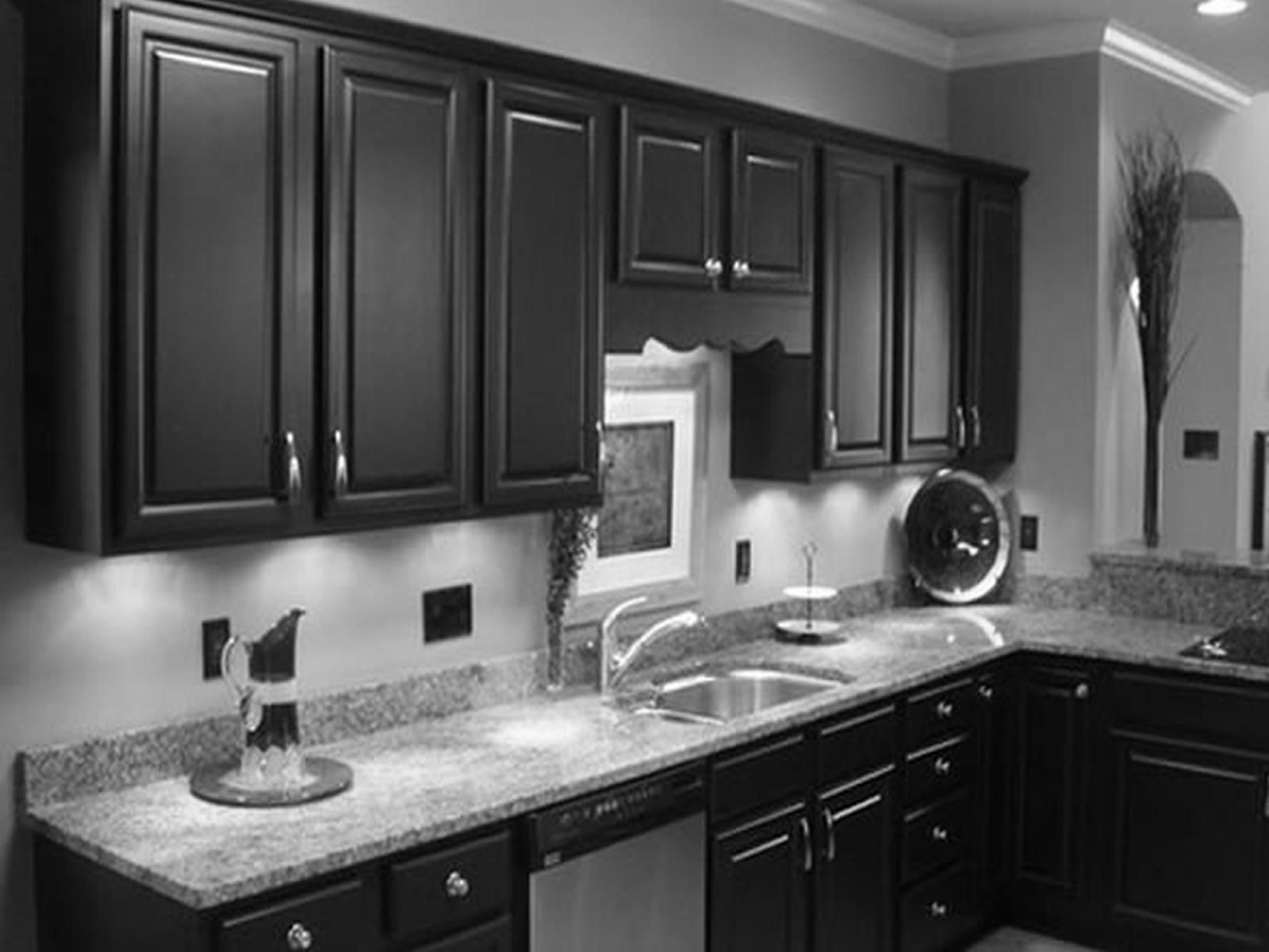 Dark gray kitchen cabinets - Dark Kitchen Cabinets With Grey Walls Outofhome Ideas About Light Pinterest