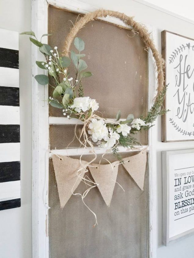 Photo of Hoop Wreath Making For Fall You'll Love   Eighteen25