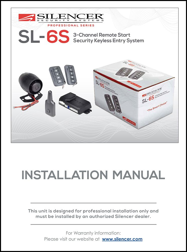 Silencer SL-6S | Installation Manual | Magnadyne Manuals ... on alarm wiring tools, prox switch diagram, alarm horn, alarm switch diagram, alarm cable, alarm valve, alarm panel wiring, fire suppression diagram, vehicle alarm system diagram, alarm circuit diagram, alarm wiring guide, alarm installation diagram, car alarm diagram, alarm wiring circuit, alarm wiring symbols, 4 wire proximity diagram,