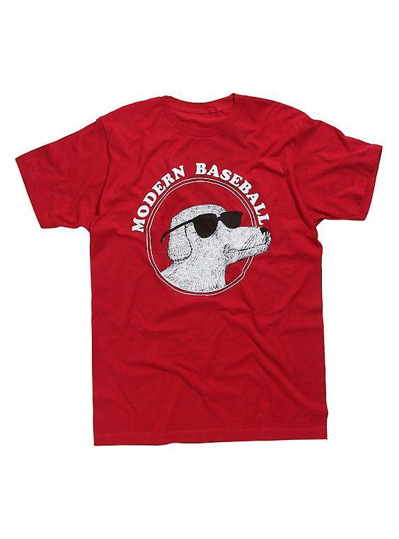 Modern Baseball Dog T Shirt Dog Tshirt T Shirt Shirts