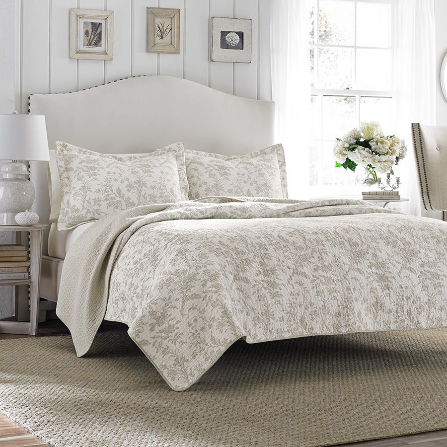 Laura Ashley Amberley Biscuit Quilt Set | Behind the Scenes - Blog ... : laura ashley king quilt - Adamdwight.com