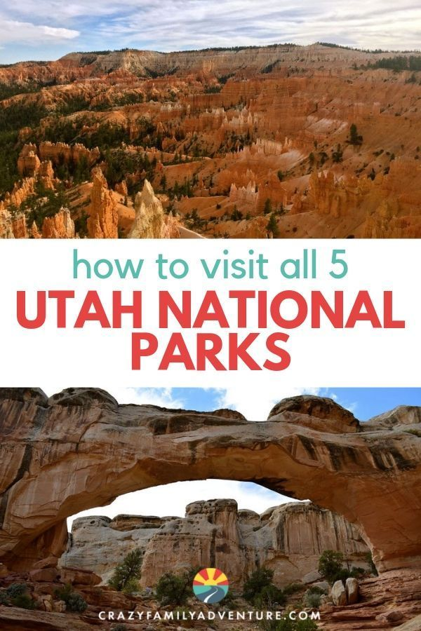 Utah national parks map (plus Page, Arizona!)