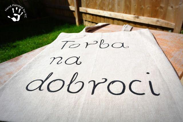Hand made bag!  Ręcznie malowana torba na dobroci! :)  #handmade #handpainted #eco #diy #bag #dobroci #torba #zakupy #shopping
