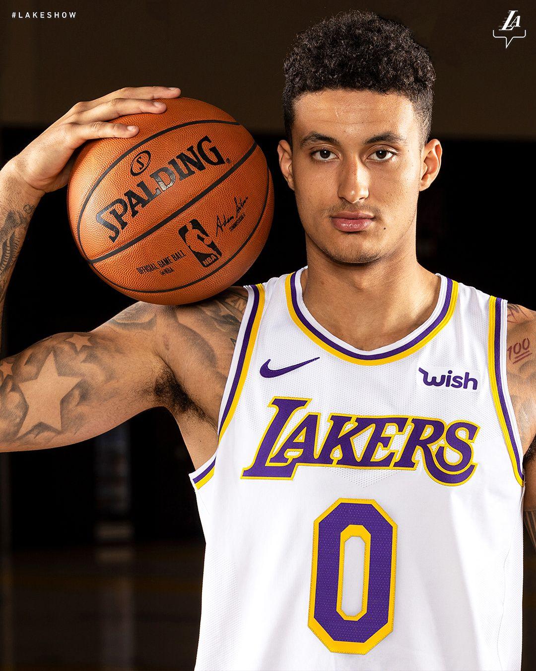 Kyle Kuzma Basketball Players Los Angeles Lakers