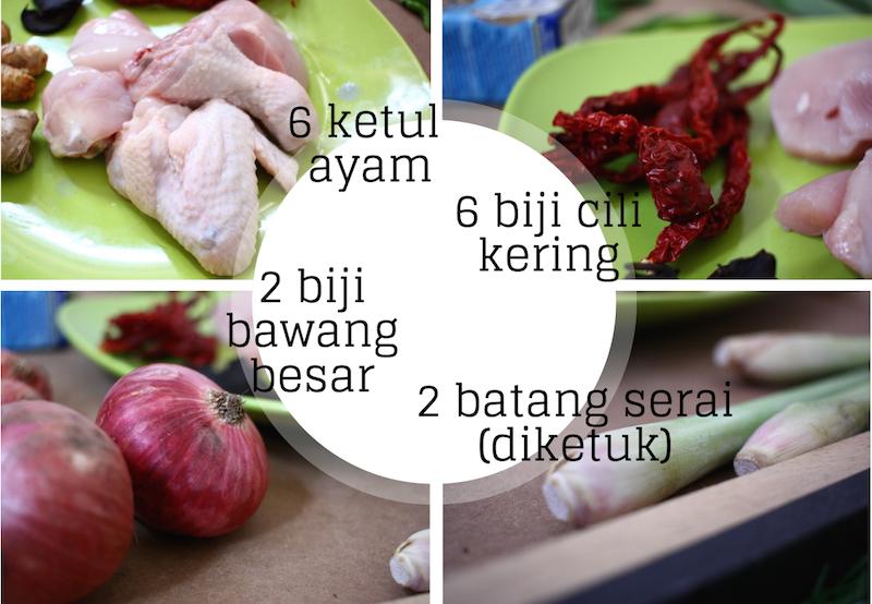 Resepi Ayam Percik Paling Senang Dan Sedap Radish Food Vegetables