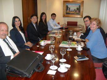 #PolíticaExterior: Importante reunión del Municipio con representantes de BRICS y de la ACACE ►http://bit.ly/BRICS-