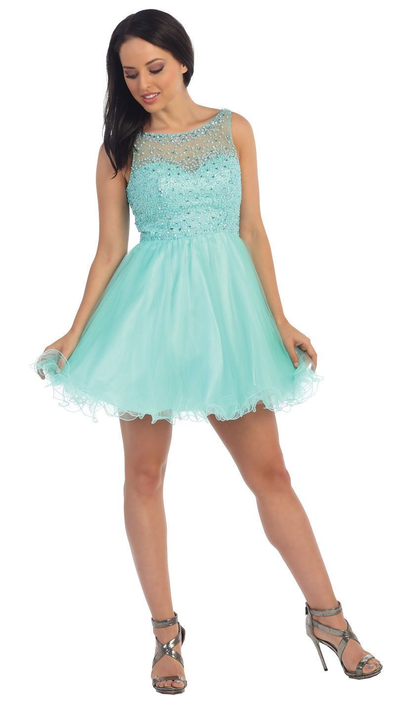 Short Formal Homecoming Prom Cocktail Dress | dresses | Pinterest ...