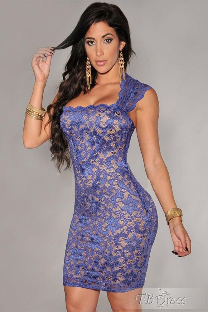 Lace Jacquard Sleeveless Lace Dress | fashion | Pinterest