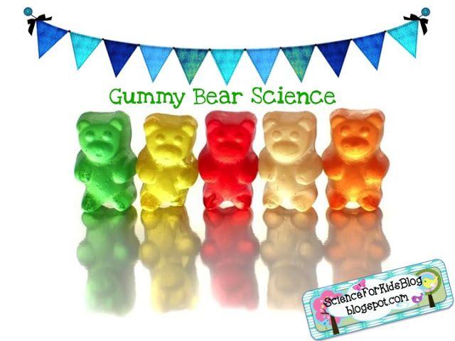 Science for Kids: Gummy Bear Science