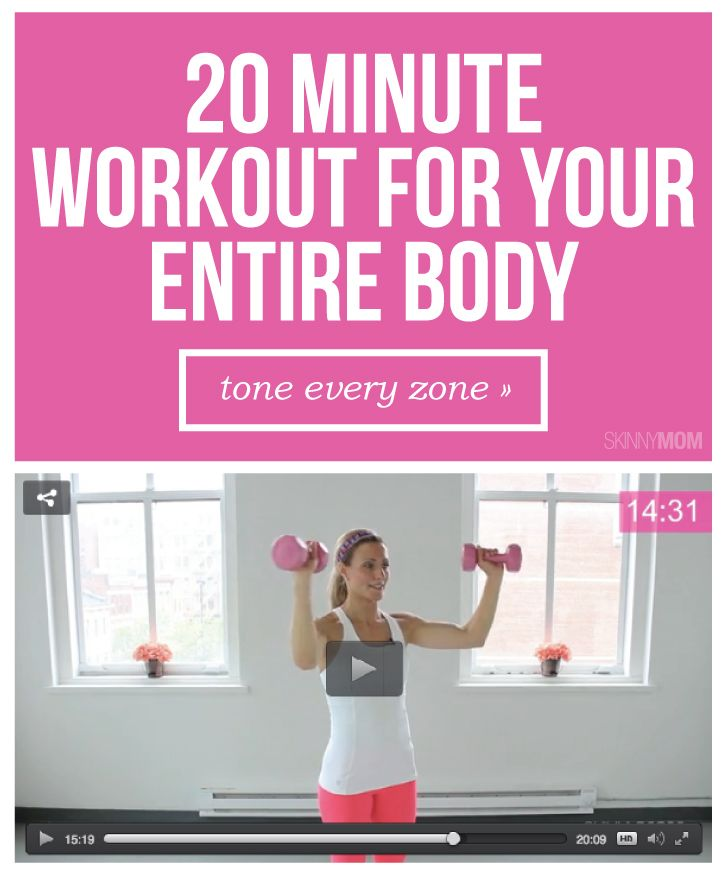 cc12483304eb Tone ALL OVER with this full body workout. It targets all your trouble  areas in 20 minutes.