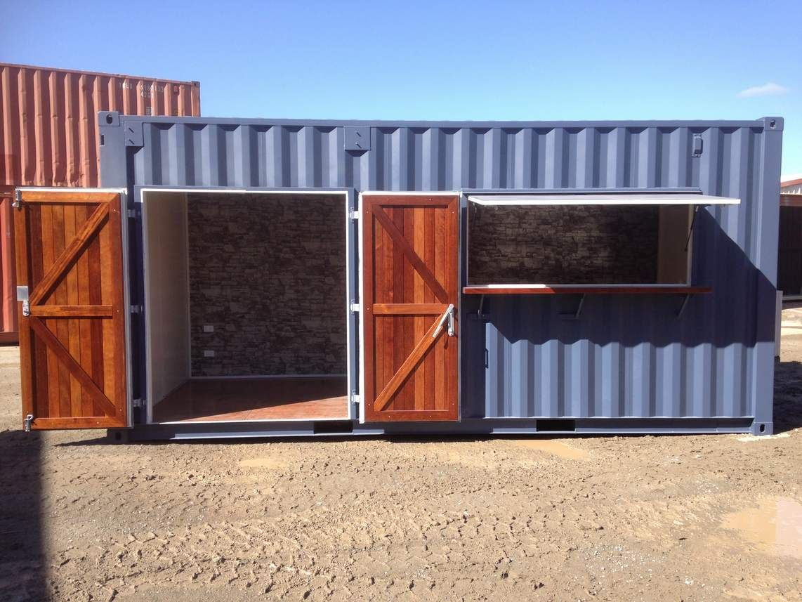 Pin By Premier Box On Cargotecture Shipping Container Sheds Shipping Container Container Shop