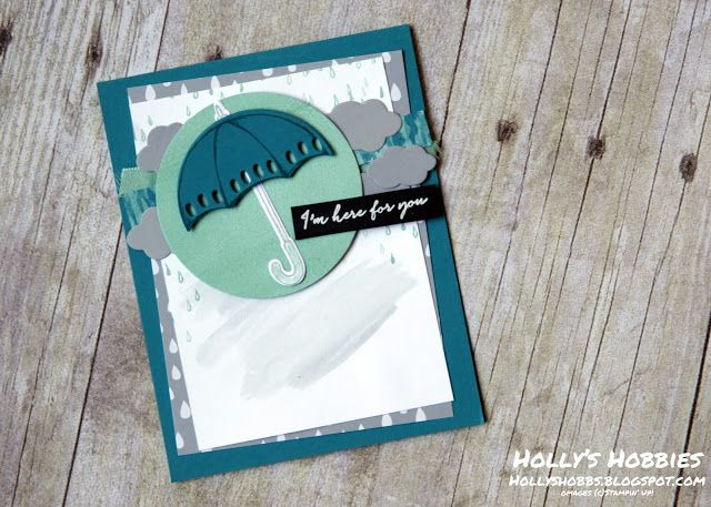 Holly's Hobbies: Weather Together Sympathy Card for PCCCS200