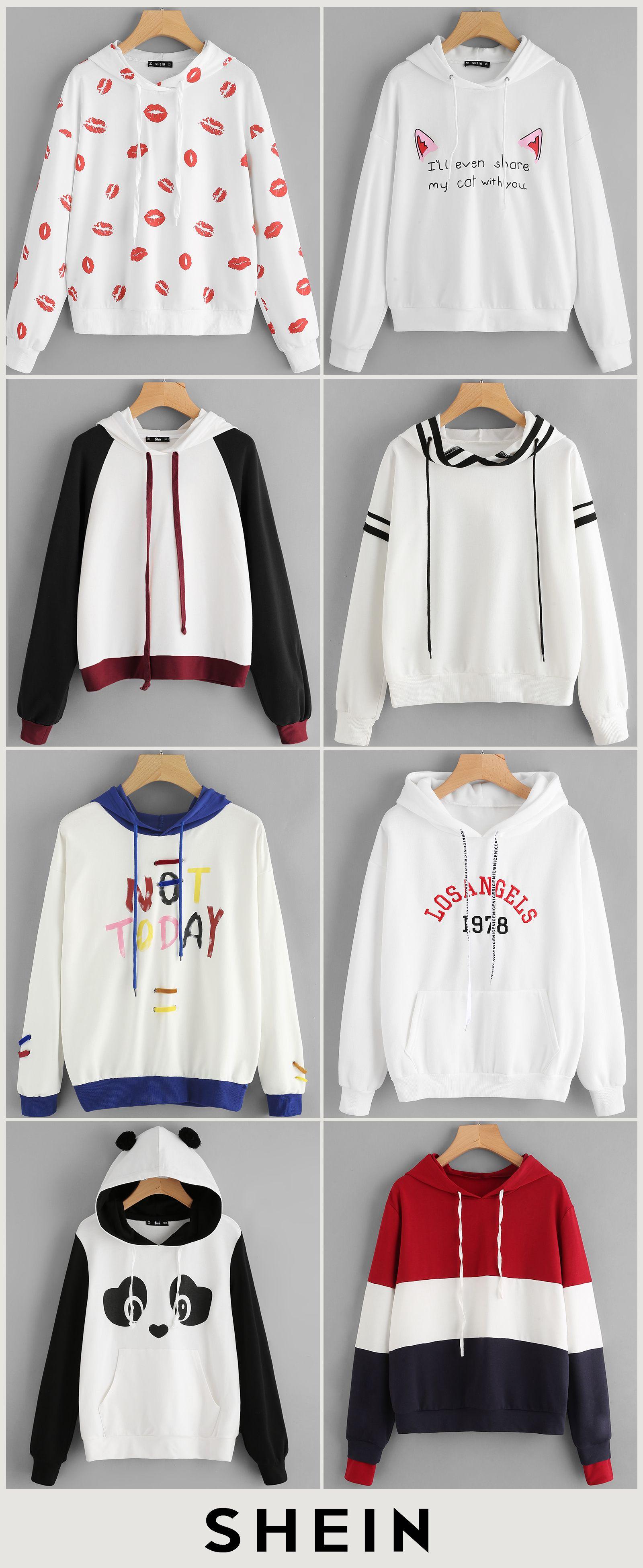 Cute hoodie roupas fofas roupas juvenil feminina
