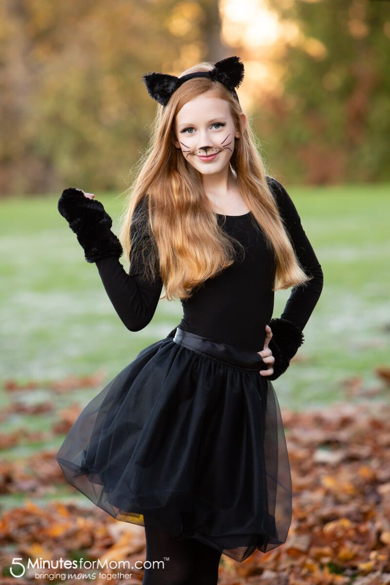 Easy Cat Costume How To Make A Gorgeous Black Cat Costume Cat