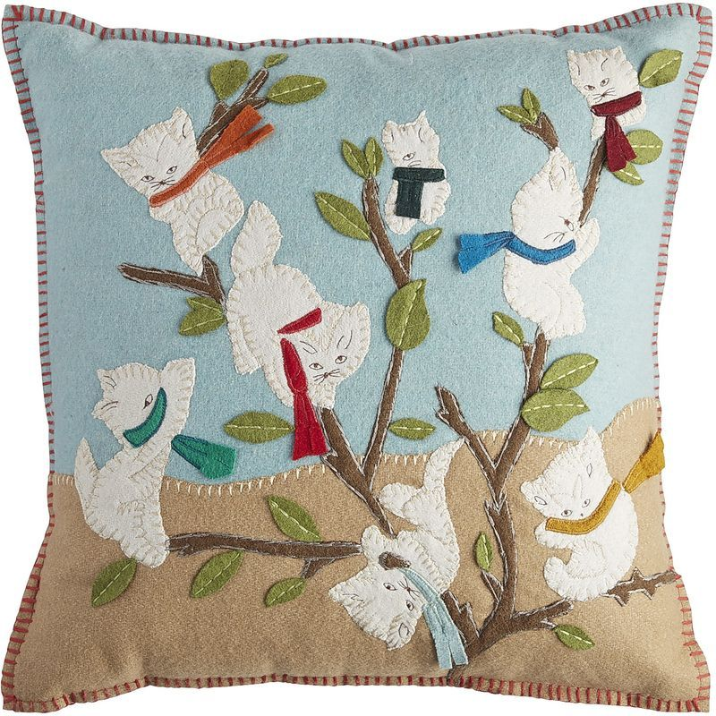 Whimsy Cat Pillow Pier 40 Imports Pillow Covers Pinterest Adorable Pier 1 Pillow Covers