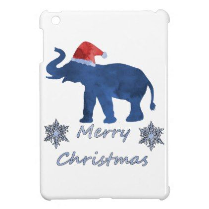 Christmas elephant ipad mini cases baby gifts child new born gift christmas elephant ipad mini cases baby gifts child new born gift idea diy cyo special negle Gallery