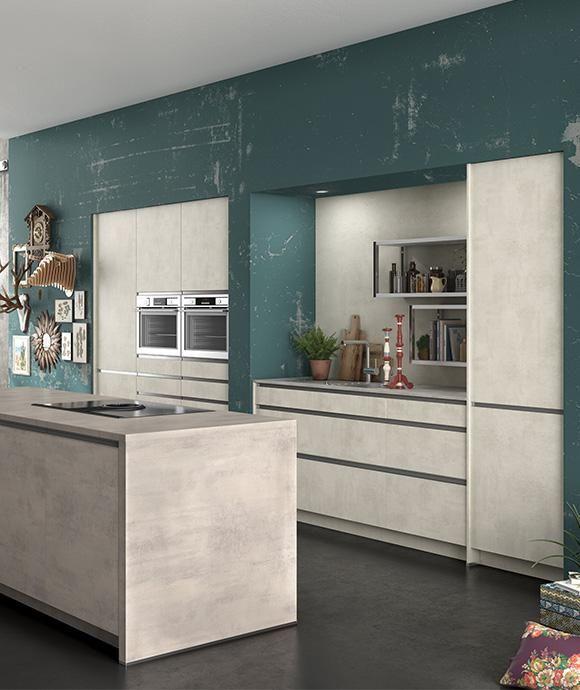 Cuisine Clara Effet Beton Ixina Cuisine Kitchen Interiordesign Minimalkitchen Cuisineminimalis Cuisine Minimaliste Modele De Cuisine Moderne Cuisine Ixina