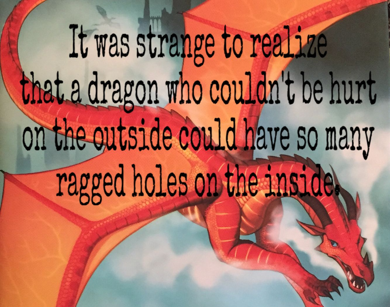 Escaping Peril quote | Wings of Fire Club | Wings of fire dragons