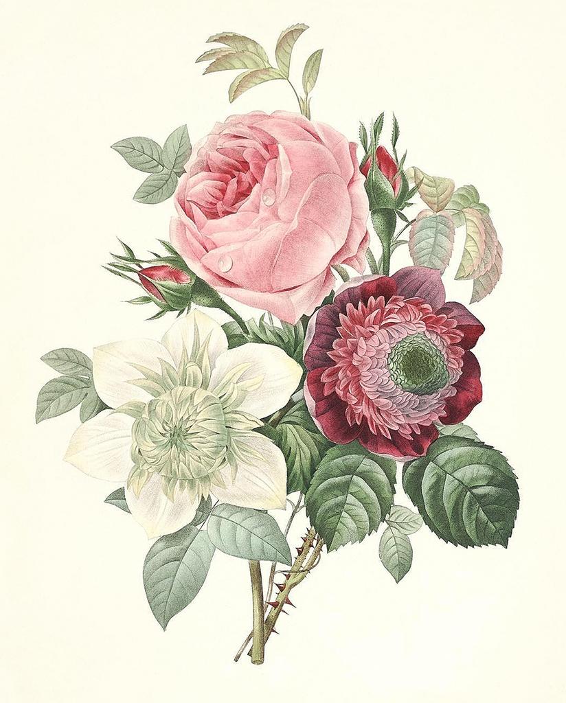 Initiative Service Tea Decor Floral Porcelain Delicate Volume Large Pottery