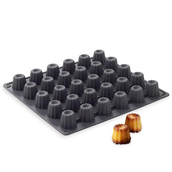 moule silicone 30 mini cannel s maxiflex en silicone alimentaire 100 il s 39 utilise de 60 c. Black Bedroom Furniture Sets. Home Design Ideas