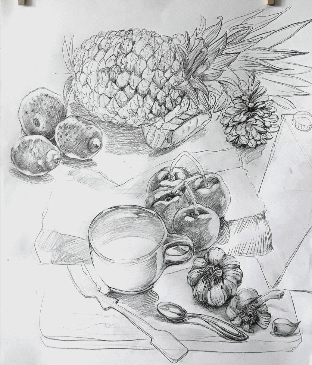 Zeichnung,Küche Zeichnungen, Zeichnen, Kunst