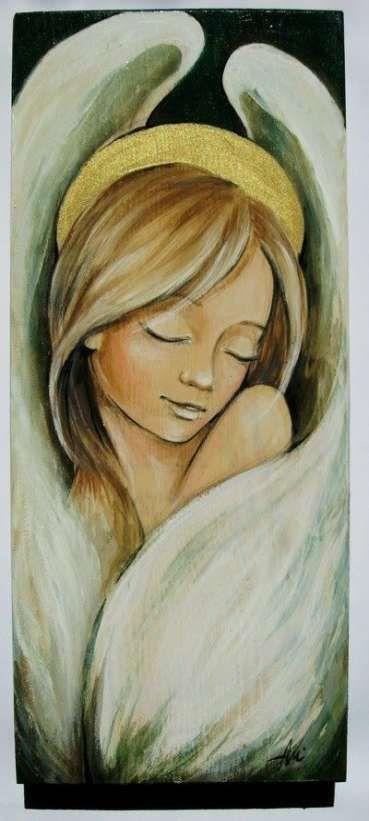 46 Ideas Painting Acrylic Angel Beautiful Angel Painting Angel Art Angel Drawing