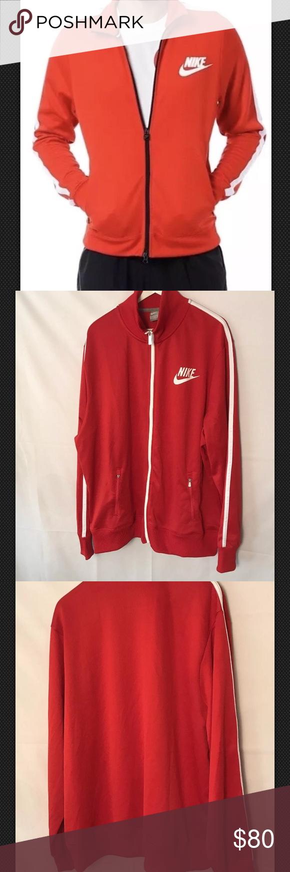 Nike Mens Oregon Ducks Warm-Up Full Zip Jacket Black//White-Yellow Size Large