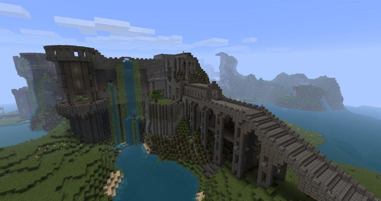Minecraft is huge huge minecraft castle just epic minecraft minecraft ideas sciox Image collections