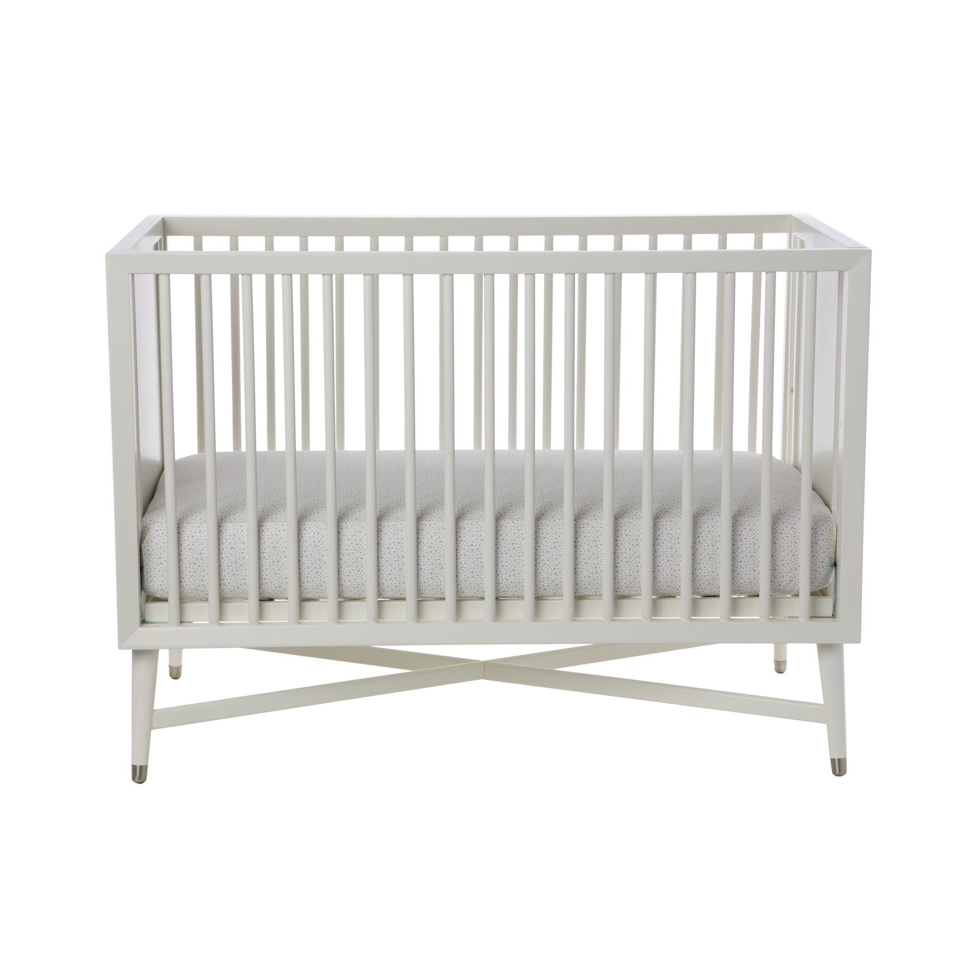 Dwellstudio Mid Century Crib Cribs White Crib Dwell Studio